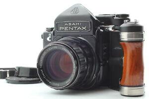 Film Tested [Near MINT] Pentax 6x7 67 TTL MUP + 105mm f/2.4 Lens + Grip JAPAN