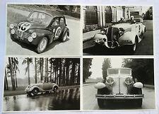 8 Cartes Auto ancienne - RENAULT 1997 Carte postale 21x15 cm