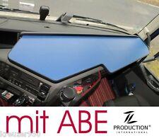 Passend VOLVO FH4 LKW Tisch Ablage mit ABE Ablagetisch durchgehend schwarz blau