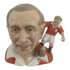 Sir Stanley Matthews Character Jug  Bairstow Pottery Collectables Blackpool FC