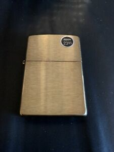 Genuine Zippo Brass windproof Lighter CASE ONLY No Insert/Box