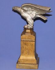 Antique Hand Made Metal Eagle Statuette