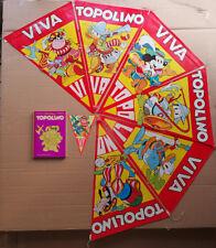VIVA TOPOLINO Bandierine Set promozionale per le edicole 1974