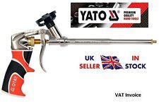 Yato resistente Pistola in Metallo EXPANDING Schiuma Applicatore di schiuma PTFE rivestito yt-6745