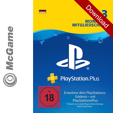 Playstation Plus 3 Monate Mitgliedschaft / 90 Tage | PS Plus Code | PSN Network