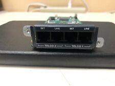 Symetrix 2 Line Analog Telephone Interface Card for DANTE Edge Radius DSP proces