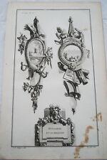 EAU FORTE JEAN CHARLES DELAFOSSE-VOYSARD HOLLANDE ET SA RELIGION-TROPHEES 1772