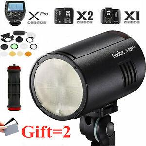 Godox AD100Pro AD100 Pro 100Ws TTL 2.4G HSS 1/8000s Pocket Flash Light Kit Gifts
