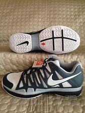 Nike Zoom Vapor 9 Tour iD Federer White/Dark Grey 578669-994 Men's Shoes Sz 7.5W