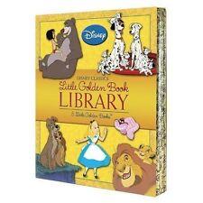 Disney Classics Little Golden Book Library (2013, Hardcover / Hardcover)