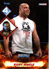 TNA Kurt Angle #107 2013 Impact Wrestling LIVE GOLD Short Print Card SN 8 of 50