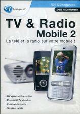 TV ET RADIO SUR VOTRE MOBILE 2 -LOGICIEL PC NEUF SOUS BLISTER -
