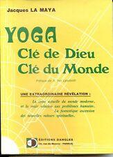 YOGA CLE DE DIEU CLE DU MONDE - Jacques La Maya 1973