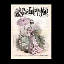 Dollshouse Miniature Newspaper - 19005 Le Petit Ech de la Mode
