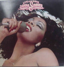 2 LPs ~ DONNA SUMMER - LIVE AND MORE - US 1978