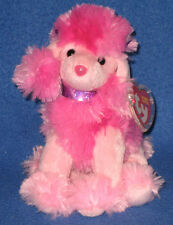 TY OOH-LA-LA the POODLE BEANIE BABY - MINT with MINT TAGS