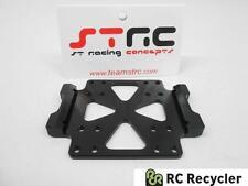 STRC Tamiya CR01 Machined Aluminum Center Skid Plate STT95887BK Crawler CR-01