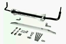 1996-2000 EK Honda Civic POLISHED LOWER SUBFRAME + TIE BAR + 24mm SWAY BAR KIT