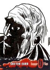 Hammer Horror Series 2 Sketch Card drawn by Rich Molinelli /4