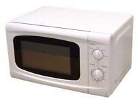 800 W Low Wattage Caravan Motorhome & Camping Microwave   WHITE