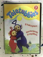 TELETUBBIES DVD 7 EL HELICOPTERO + MANTENIENDO EL EQUILIBRIO BBC