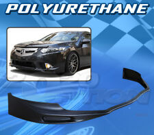 FOR ACURA TSX 09-10 T-JDM STYLE FRONT BUMPER LIP BODY KIT POLYURETHANE PU