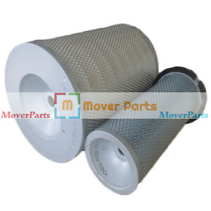 Air Filter 2474Y1009 and 2474Y6025 For Doosan Daewoo DH280