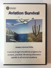 Aviation Survival Physiology DVD's Brand New Sealed FAA