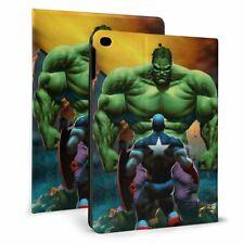 Superhero Hulk Auto Sleep/Wake Smart Stand Case Cover for iPad 7th Air3 Mini Pro