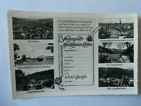 Ansichtskarte Pforzheim Schwarzwald 50/60er?? 6 Ansichten