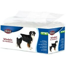 Trixie Disposable Diapers for Female Dog - Nappies - 12 Pack With Tail Opening