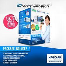Magicard Pronto completo sistema ID Card * Navi in tutto il mondo * 5000+ venduti