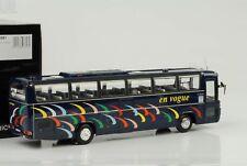 Mercedes-Benz Bus Autocar O303-15 Rhd 1979 en Vogue Azul 1:43 Minichamps