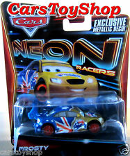 Disney Pixar Cars 2 - Frosty Neon Racers Mark Winterbottom Diecast Metallic Deco