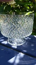 Waterford Crystal Footed Bowl / Dish in Alana Design