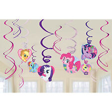 American Greetings Amscan Part AMI 675513 My Little Pony Swirl Decorations
