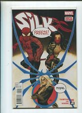 Silk #5 Marvel Freeze- Nope Thompson Lee Herring Near Mint Unread Md5