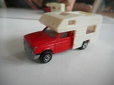 Majorette Camping Car in Red/White