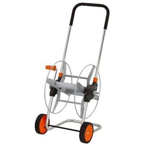 Gardena Metal Hose Reel Trolley 12mm 60M Powder Coated Strong Good Quality 2681