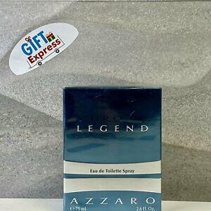 AZZARO CHROME LEGEND EAU DE TOILETTE SPRAY FOR MEN 2.6 Oz / 75 ml BRAND NEW
