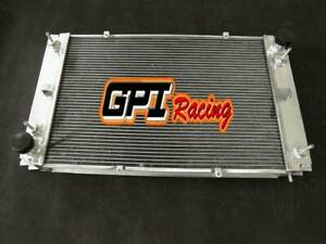 Aluminum Radiator for Porsche 928 with 2 Oil Coolers 5 ROW
