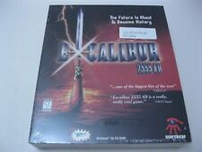 Excalibur 2555 AD new sealed PC game CD-ROM Sirtech