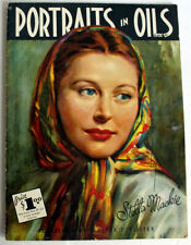 Issue 15 PORTRAIT IN OILS Walter T. Foster vintage how to book!