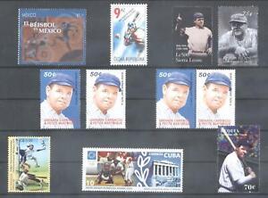 (873720) Baseball, Babe Ruth, Small lot, World
