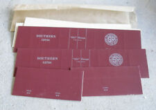 Vintage Oo Ho Scale Boxcar Cardboard Side and End Panels Southern Rr