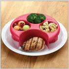 Meal Measure Portion Control Cooking Tools with Kitchen Food Plate