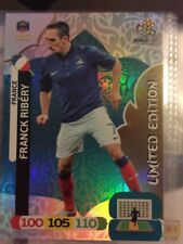 Adrenalyn XL UEFA EURO 2012 Panini FRANK RIBERY FRANCE  Limited Edition