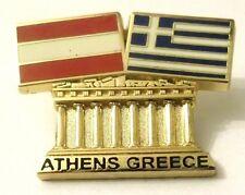 Pin Spilla Olimpiadi Athens 2004 Greece/Austria Flags