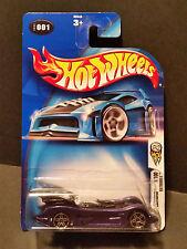 2004 Hot Wheels #001 First Editions 1/100 : Batmobile Chrome Base - B3540