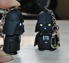 Fashion Light Up LED Star Wars Darth Vader Sound Keyring Keychain Jewelry New H
